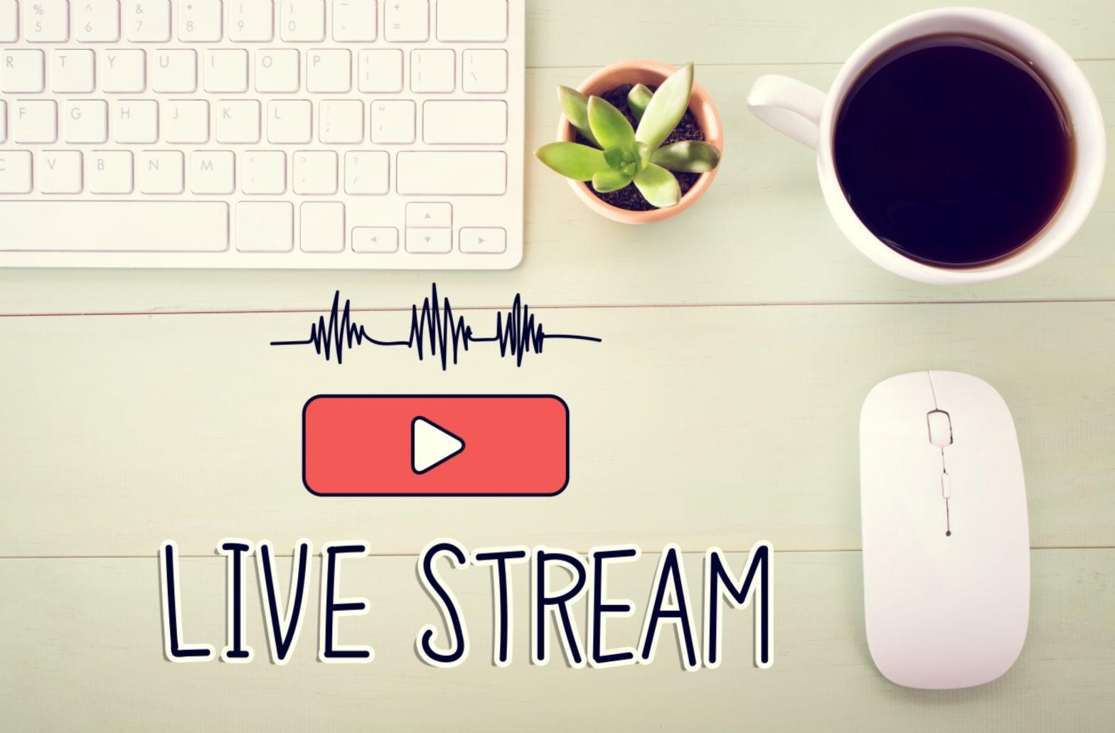 Live streams nonprofit