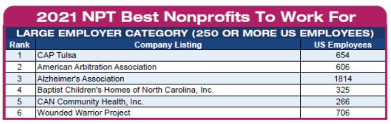 NPT Large Nonprofits