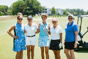 Miss Tennessee USA 2021 was one of several special guests at On the Green.